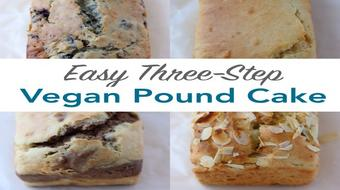 Easy Three-Step Vegan Pound Cake ! course image