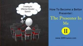 How To Become A  Better Presenter Series: The Presenter in Me Vol 2 course image