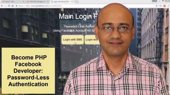 Become PHP Facebook Developer: Password-Less Authentication course image