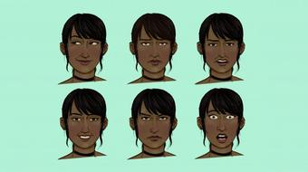 Emotions and Facial Expressions (Draw Better Faces) course image