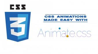 Create CSS Animations Easily With Animate.css course image