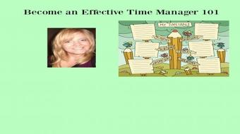 Become an Effective Time Manager 101 course image