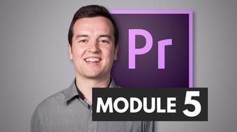 Premiere Pro Masterclass Module 5 - Editing Audio course image