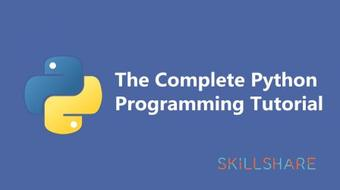 The Complete Python Programming Tutorial course image