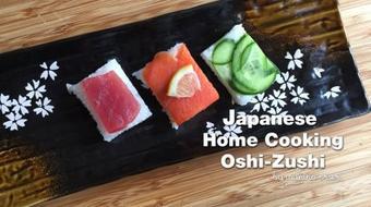 Japanese Home Cooking - Oshi Zushi course image