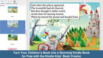 Turn Your Children's Book into a Stunning Kindle Book for Free with the Kindle Kids' Book Creator course image