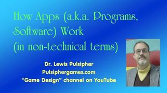 "How ""Apps"" Work (for complete beginners, no programming code involved) course image"