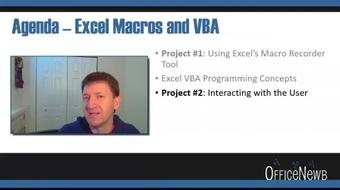 Master Microsoft Excel Macros and VBA with 6 Simple Projects course image