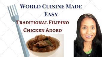 World Cuisine Made Easy: Filipino Chicken Adobo course image