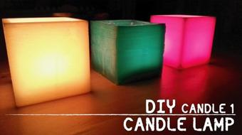 CANDLES 1 - How to Make a Candle Lamp and a Tealight Candle course image