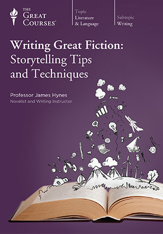 Writing Great Fiction: Storytelling Tips and Techniques - CD, digital audio course course image