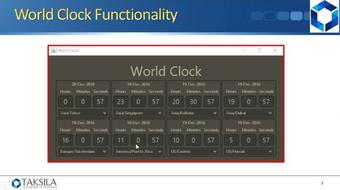 Java By Example (Project 04) - World Clock course image