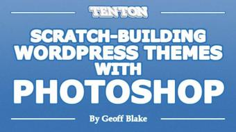 Scratch-Building WordPress Themes With Photoshop course image