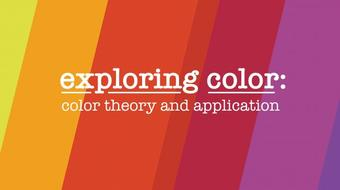 Exploring Color: Color Theory and Application course image