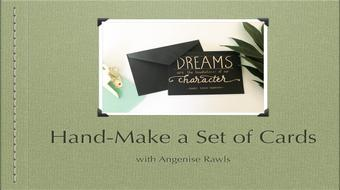Hand_Make Your Own Set of Cards course image