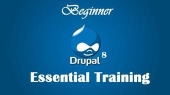 Drupal 8 Essential Training - Beginner - Part1 course image