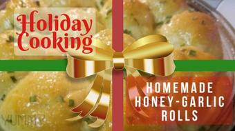EASY Honey Garlic Yeast Rolls - You'll Never Want Store Bought Rolls Again! course image