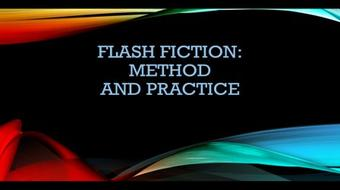 Write a Piece of Flash Fiction! course image