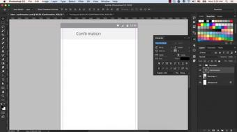 Uber App Design in Photoshop course image