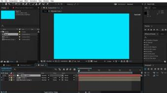 Learn the Basic of Adobe After Effect course image