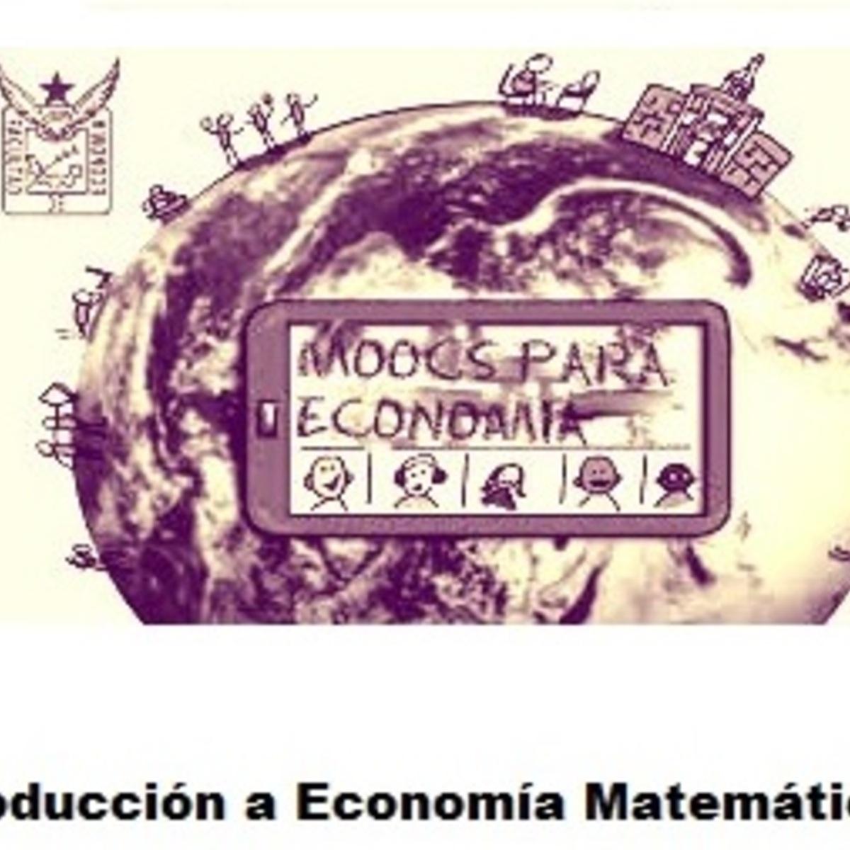 Introducción a Economía Matemática 1 course image