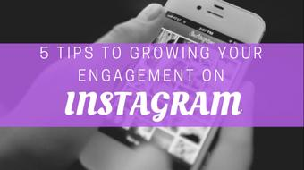 5 Tips to Growing your Engagement on Instagram course image