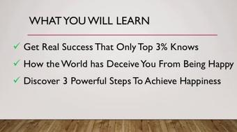 How To Be Happy Reaping What You Sow - Set Goals That Matters In Life course image