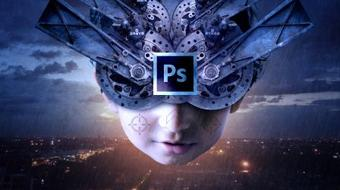 Photoshop-Master Photo Manipulation in Photoshop with Amazing Sci-Fi Character Photo Manipulation course image