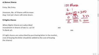 Accounting for Investments course image