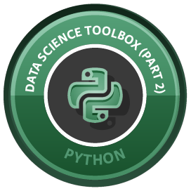 Python Data Science Toolbox (Part 2) course image