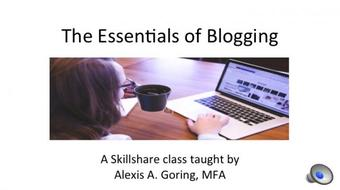 The Essentials of Blogging course image