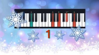 Play Piano Christmas Song # 1:  I'm Dreaming of a White Christmas course image