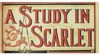 """A Study in Scarlet"" by Doyle: BerkeleyX Book Club course image"