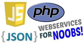 JSON Webservices in PHP - A Simple Registration Page and Login page Example from Scratch course image