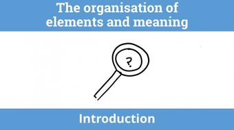 Introduction to form: The organisation of elements and meaning course image