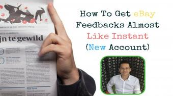 How To Get eBay Feedbacks Almost Like Instant  (New Account) course image