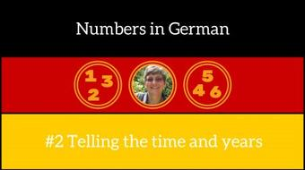 Numbers in German #2 - Telling the Time course image