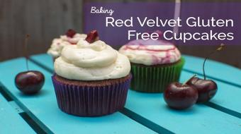 How to Bake the Perfect Red Velvet & Cherry Cupcake course image