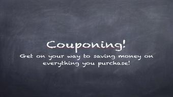 Couponing and Saving on Everything course image