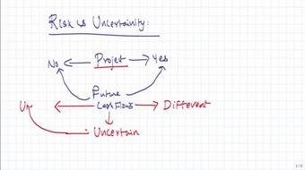 Risk Analysis - Capital Budgeting for CA / CS / CFA exams course image