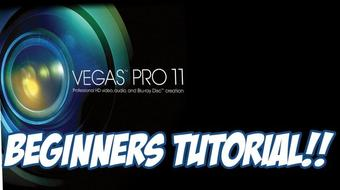 Sony Vegas pro 11 – Beginners and Basics Tutorial course image