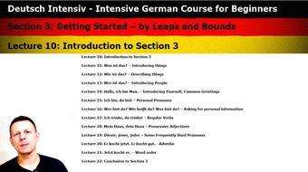 Intensive German: Part 3 - Getting Started – by Leaps and Bounds course image