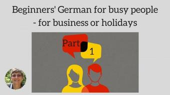 Beginners' German for busy people - part 1 course image