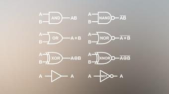 Complete BOOLEAN ALGEBRA & LOGIC GATES Guide For Beginners course image