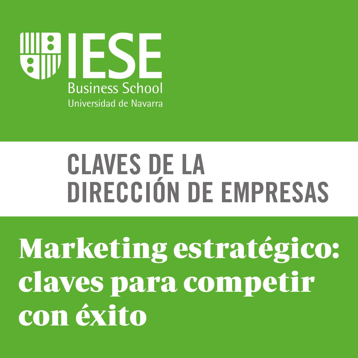 Marketing estratégico: claves para competir con éxito course image