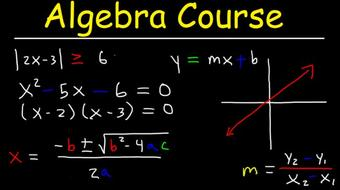Algebra Course Video Tutorial course image