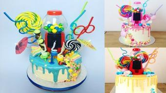 How to Bake and Decorate: Dripping Buttercream Birthday Cake course image