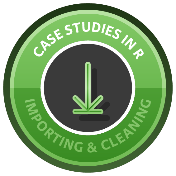 Importing & Cleaning Data in R: Case Studies course image