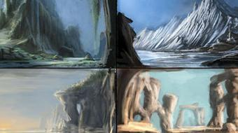 Landscape Concept Art for Film and Games course image