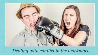 Dealing with conflict in the workplace course image